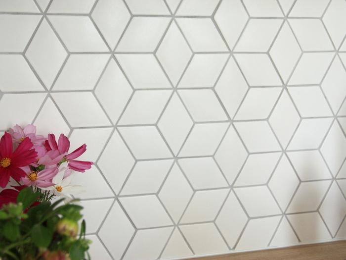 Particulier SaintCyrLEcole Normandy Ceramics Fabricant - Carrelage losange