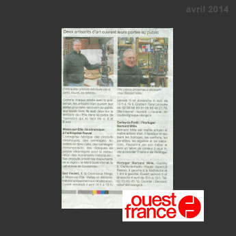 Ouest France Avril 2014